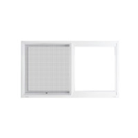 "Active Home Centre 36"" x 24"" UPVC Sliding Window with Mesh (02U-P02A-3624C)"