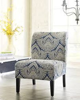 Ashley Honnally Accent Chair in Sapphire 25AS-5330360