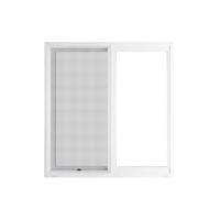 "Active Home Centre 48"" x 48"" UPVC Sliding Window with Mesh"