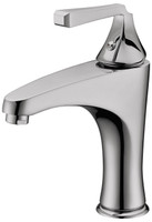 Italian Classical Design Lavatory Faucet in Brushed Nickel 09C-141686BN