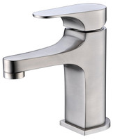 Italian Classical Design Lavatory Faucet in Brushed Nickel 09C-521662BN