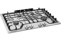 "Frigidaire 30"" Gas Cooktop with 4 Sealed Burners in Stainless (61FR-FGGC3045QS)"
