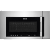 "Frigidaire Professional 1.8 Cu. Ft. 30"" 2-in-1 Over the Range Convection Microwave in Stainless (62FR-FPBM3077RF)"