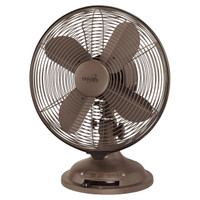 "Minka Aire Retro 10"" 3-Speed Table Fan in Oil Rubbed Bronze (29MI-F300-ORB)"