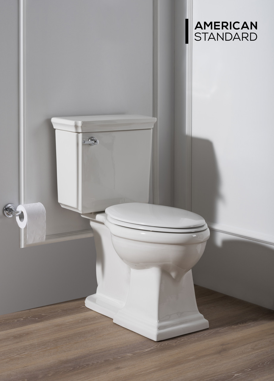 American Standard Provence 2-Piece Elongated Front Toilet ...