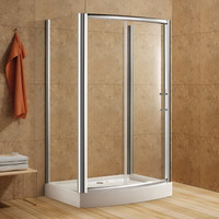 Active Home Centre Rectangular Shower Enclosure with Tempered Glass (07KO-K928-1)