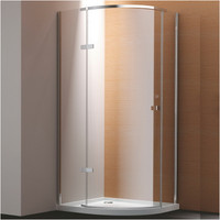 Active Home Centre Quadrant Shower Enclosure with Tempered Glass (07KO-KD1)