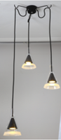 Active Home Centre 3 Light Pendant (30HA-DU30798-3L)
