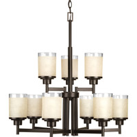 Active Home Centre 9 Light Chandelier in Antique Bronze (30GR-GP7897N9-AB)