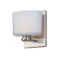 Active Home Centre 1 Light Wall Sconce in Satin Nickel (30GR-GW8410N1-SN)