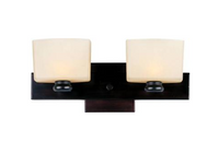 Active Home Centre 2 Light Wall Sconce in Bronze (30GR-GW8410N2ROB-BRZ)