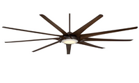 "Minka-Aire Ninety Nine 99"" 9 Blade Indoor Ceiling Fan in Oil Rubbed Bronze (29MI-F899L-ORB)"