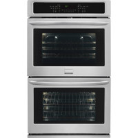 "Frigidaire Gallery 30"" Double Electric Wall Oven with True Convection in Stainless (61FR-FGET3065PF)"