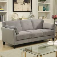 Furniture of America Ysabel Sofa in Warm Grey (25FA-CM6716GY-SF)