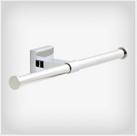 Active Home Centre Maxted Double Toilet Paper Holder in Polished Chrome (08LI-MAX53-PC)