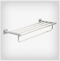 Active Home Centre Maxted Towel Shelf in Polished Chrome (08LI-MAX93-PC)
