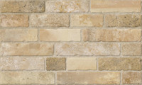 "Active Home Centre Brickwork Beige 13""x22"" Ceramic Wall Tile (11HAL-BRKBEG-WK1322)"