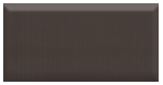 "Active Home Centre Chocolate Biselado BX 4""x8"" Ceramic Wall Tile (11FAB-CHOBISBX-W48)"