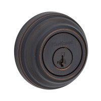 Kwikset Deadbolt Single Cylinder in Venetian Bronze (04KW-99800-089)