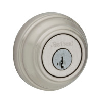 Kwikset Deadbolt Single Cylinder in Satin Nickel (04KW-99800-090)