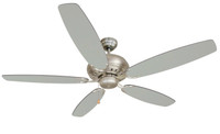 "Bali Blue Mountain 52"" Indoor Ceiling Fan in Brushed Chrome (29BA-BL525BC)"