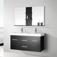 Double Floating Bathroom Cabinet Set 08KO-K8026