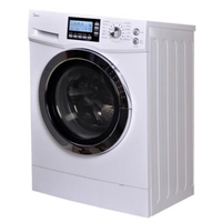 Midea 15kg Electric Washer Dryer Combo in White