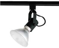 Active Home Centre Track Light Head in Black