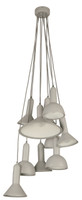 Active Home Centre 10-Light Chandelier in Silver