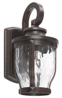 Active Home Centre 1-Light Outdoor Wall Sconce in Black