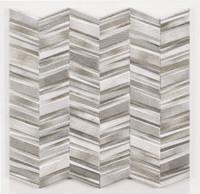 "Active Home Centre Chevron Grey 17""x 17"" Porcelain Tile"