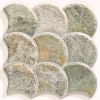 "Active Home Centre Scale Stone Nature 12""x 12"" Porcelain Tile"