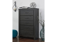 Ashley Brinxton 5 Drawer Chest in Black