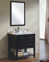 "Active Home Centre 30"" Bathroom Cabinet Set in Espresso"