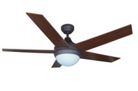 "Bali 52"" Savannah Indoor Ceiling Fan in Antique Bronze"