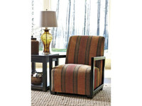 Ashley Fiera Accent Chair in Brick