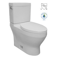 Select Two Piece High Efficiency Toilet in White (06MUY-MY2604)