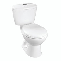 Corona Avanti High Efficiency Round Front Toilet in White