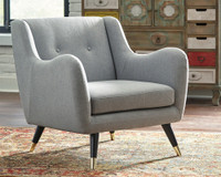 Ashley Menga Accent Chair in Ash