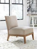 Ashley Novelda Accent Chair in Neutral