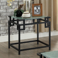 Furniture of America Selene End Table in Black