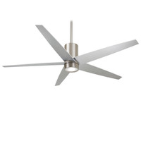 "Minka-Aire Symbio 56"" Indoor Ceiling Fan in Brushed Nickel"
