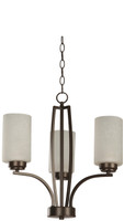Active Home Centre 3 Light Chandelier in Dark Brown