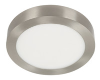Active Home Centre 18W LED Ceiling Light in Satin Nickel