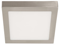 Active Home Centre LED Ceiling Light in Satin Nickel