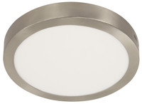 Active Home Centre 25W LED Ceiling Light in Satin Nickel
