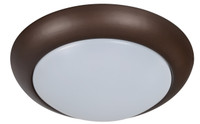 Active Home Centre LED 1-Light Ceiling Light in Dark Brown