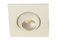 Active Home Centre 3W LED Recess Light in Matt White