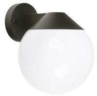 Active Home Centre 1 Light Outdoor Wall Sconce in Black