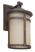 Active Home Centre Outdoor Wall Sconce in Rust